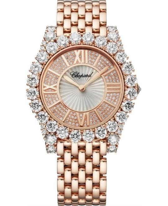Chopard L'heure Du Diamant 109419-5401 Watch 35.75mm