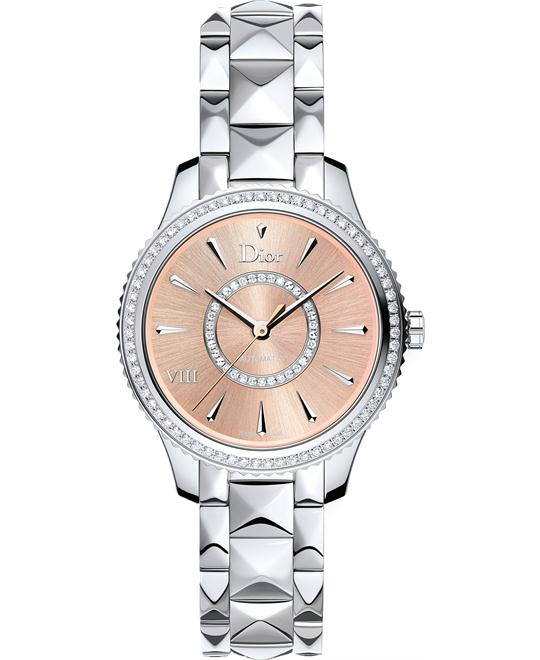 Christian Dior Dior VIII CD152510M002 Diamonds Watch 32