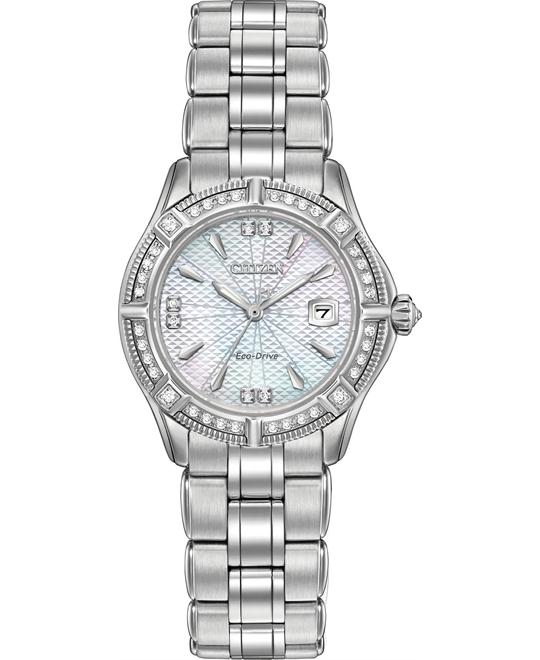 Citizen Arezzo Diamonds Mother of Pearl  29mm