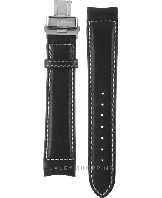 Citizen Black Leather Strap 20/17.5mm