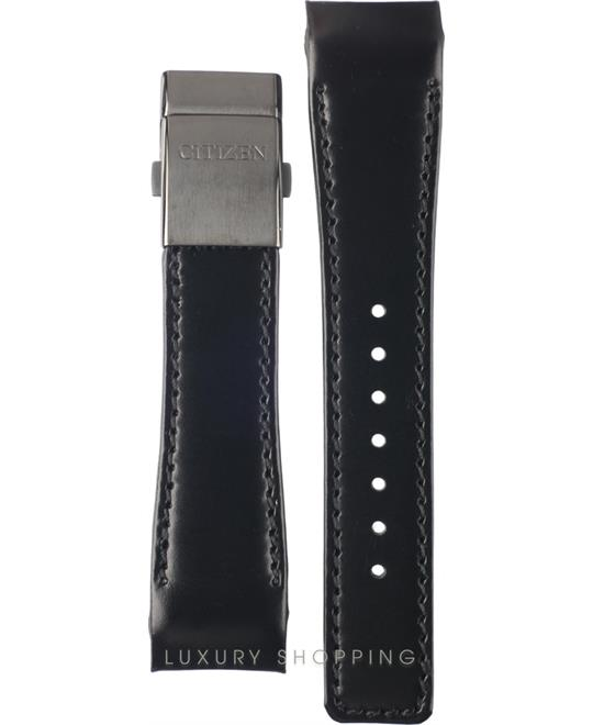 Citizen Black Leather Strap 22/18