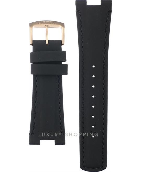 Citizen Black Leather Strap 24/20