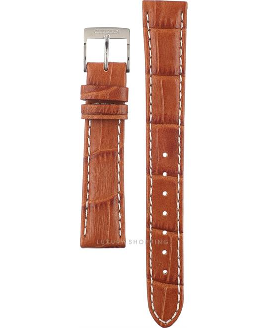 Citizen Brown Leather Strap 16/13.5mm