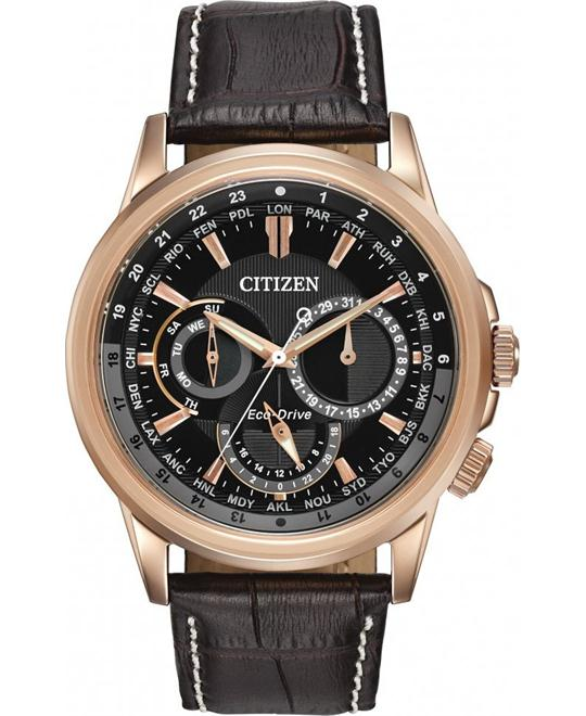 Citizen Calendrier Gold-Tone Men's Watch 44mm