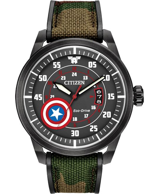 Citizen Captain America Marvel Men's Watch 45mm