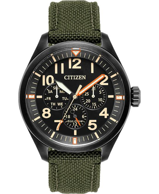 CITIZEN Chandler Multifunction Nylon Watch 43MM