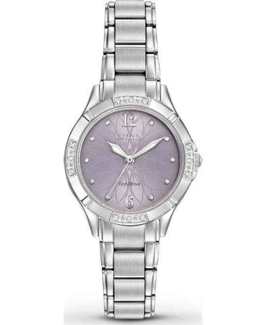 CITIZEN  SILHOUETTE Diamond Ladies Watch 30mm