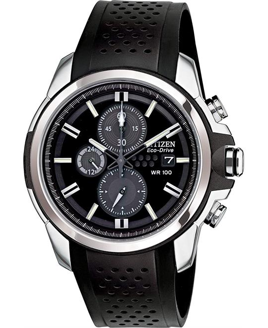 Citizen Eco-Drive AR 2.0 Chronograph Watch 44.5mm