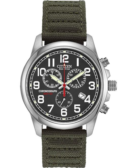 Citizen Military Eco-Drive Watch 40mm