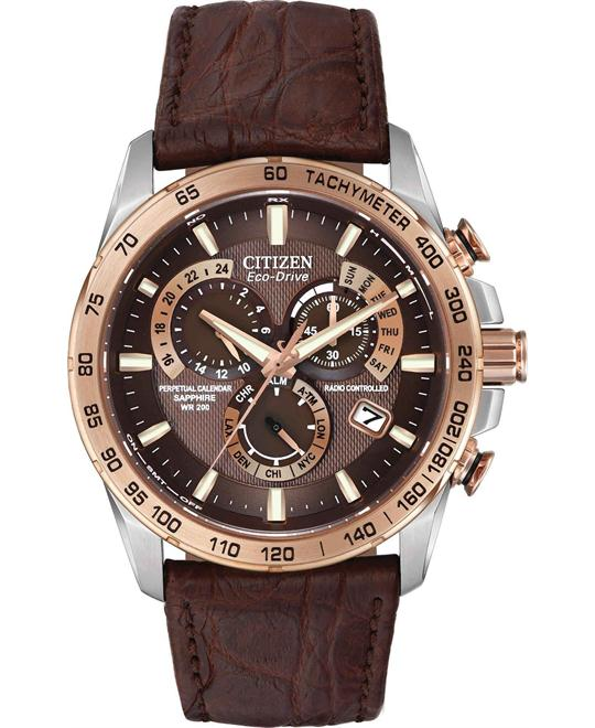 CITIZEN LIMITED EDITION PERPETUAL CHRONO A-T WACTH 42MM
