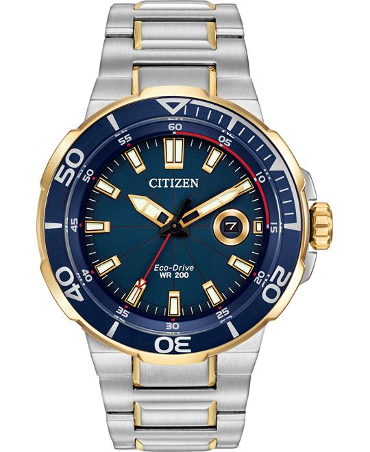CITIZEN Endeavor Dark Blue Men's Watch 45mm