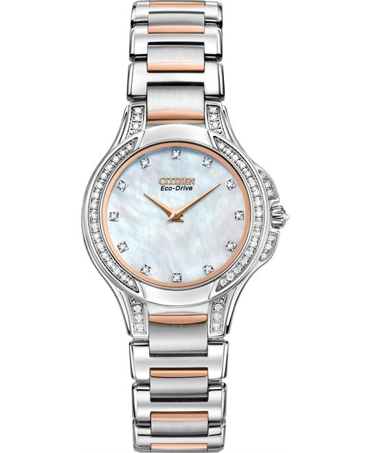 Citizen Fiore Collection Eco-Drive Watch 30mm