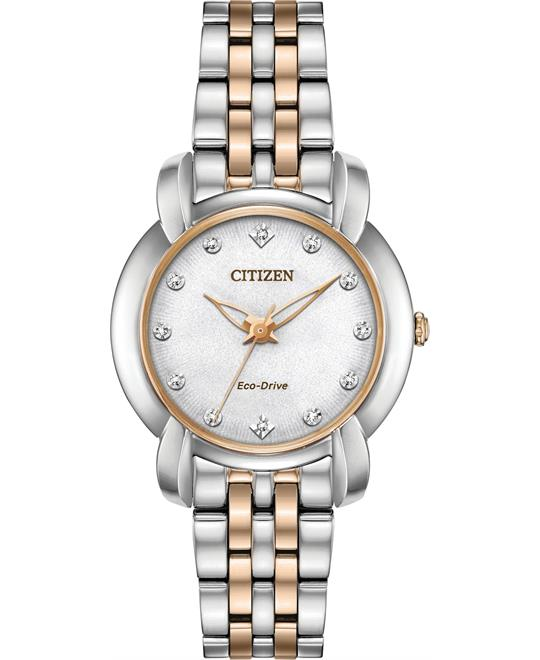 Citizen Jolie White Ladies Watch 30mm