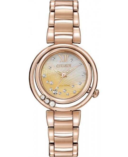 Citizen L Sunrise Solitaire Watch 29mm