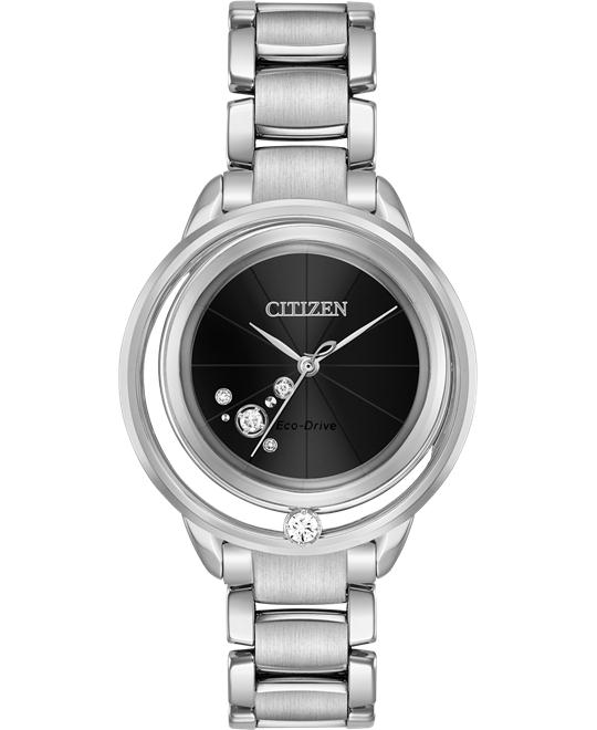 CITIZEN L SUNRISE SOLITAIRE DIAMOND 33MM