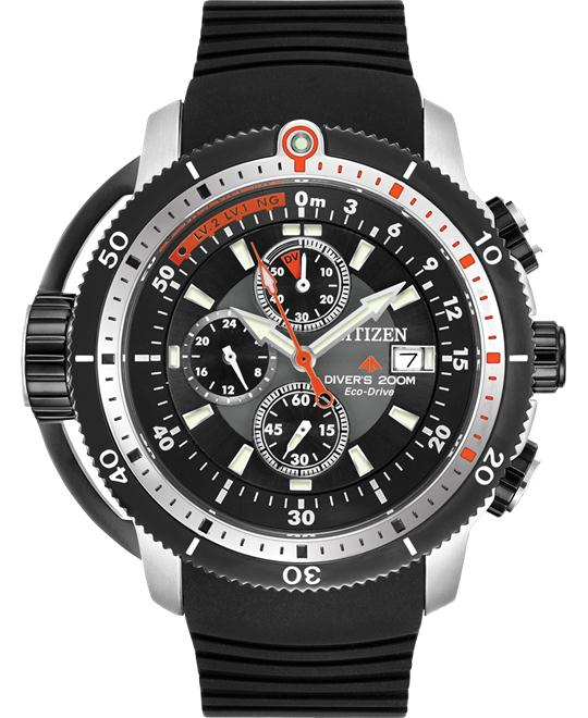 Citizen Men's Eco-Drive Chronograph Watch, 50mm
