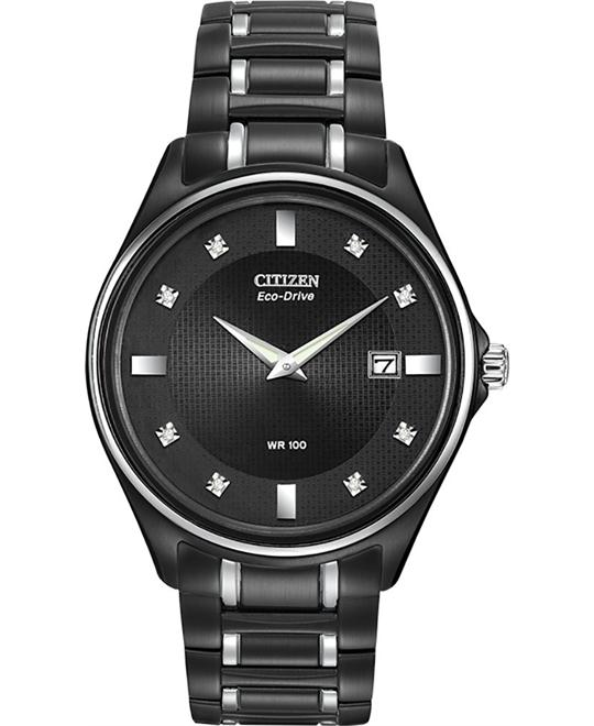 dong ho nam CITIZEN Eco Drive Diamond Men's Watch 40mm