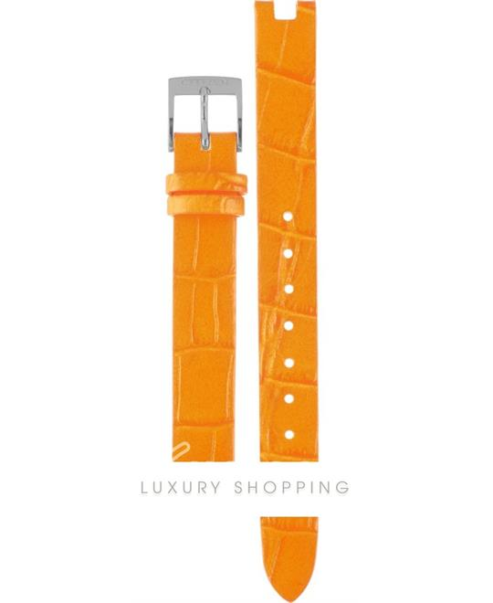 Citizen Orange Leather Strap 12mm