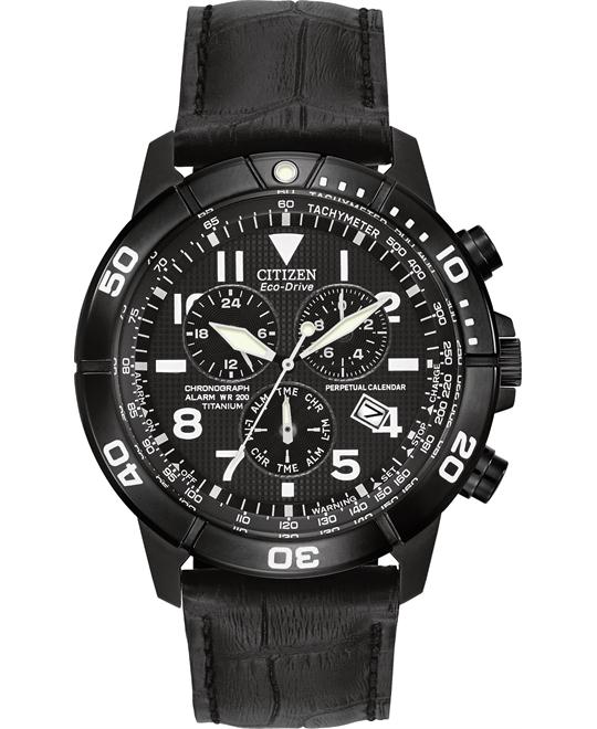 CITIZEN Brycen Perpetual Calendar Chronograph Watch 43mm