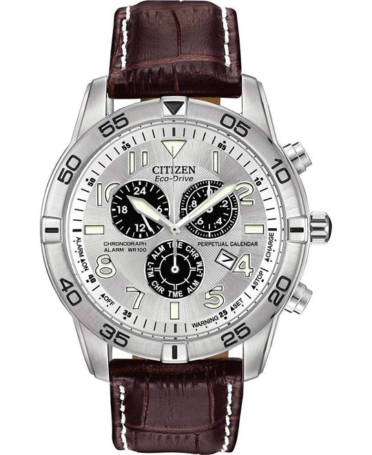 CITIZEN Brycen Perpetual Calendar Eco-Drive Watch 44mm