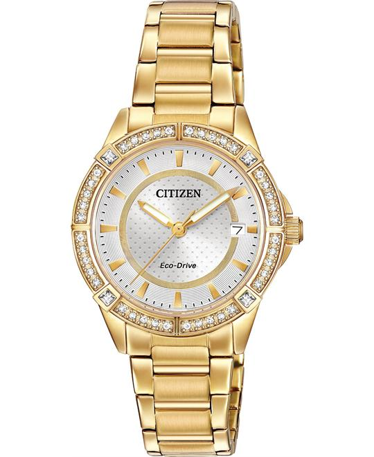 CITIZEN POV Drive Ladies Watch 34mm