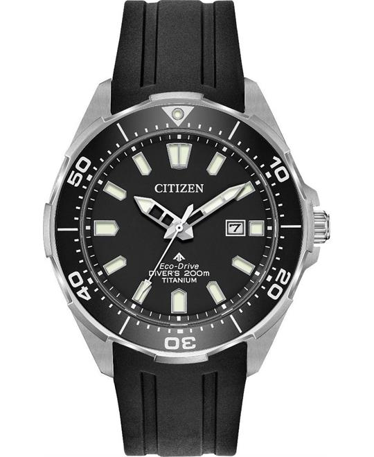 Citizen Promaster Eco-Drive Titanium Watch 45mm