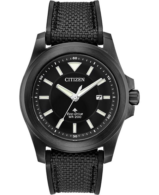 Citizen Promaster Tough Black Fabric Watch 42mm
