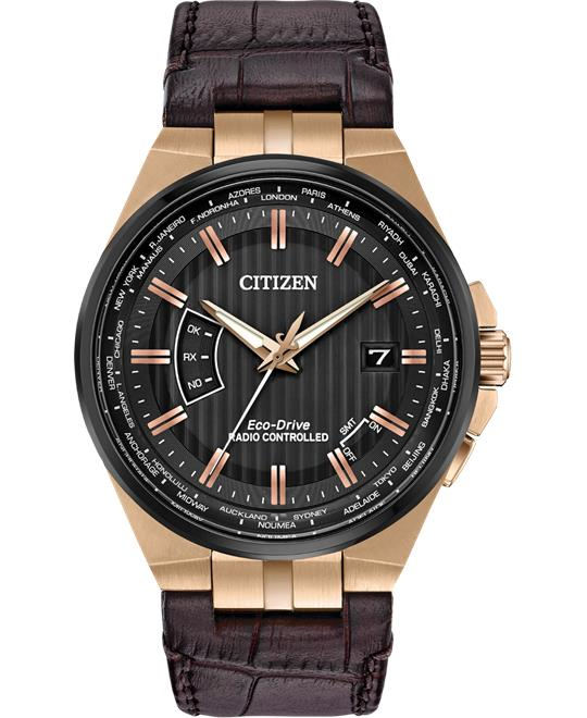 Citizen World Perpetual A-T Eco-Drive Watch 42mm