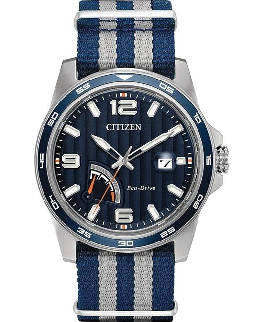 CITIZEN PRT Nylon Men's Watch 42mm