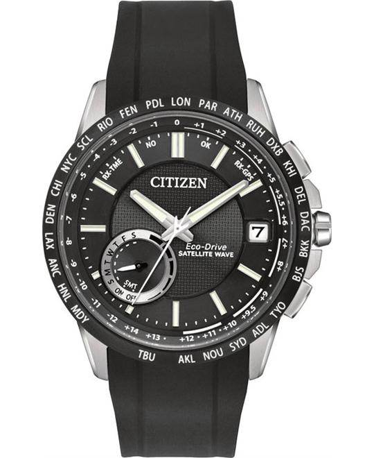 CITIZEN SATELLITE WAVE - WORLD TIME GPS WATCH 44mm