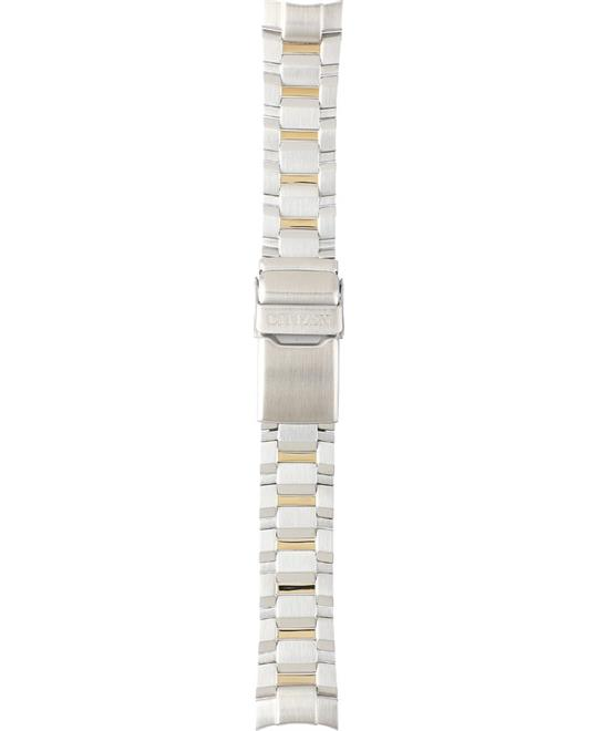 Citizen Two-Tone Coated Steel Bracelet 21/18