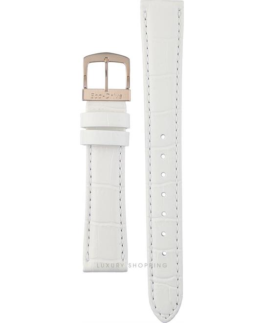 Citizen White Leather Strap 18/14mm