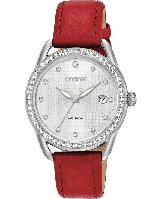 Citizen LTR Crystal Drive Quartz Casual Watch 37mm