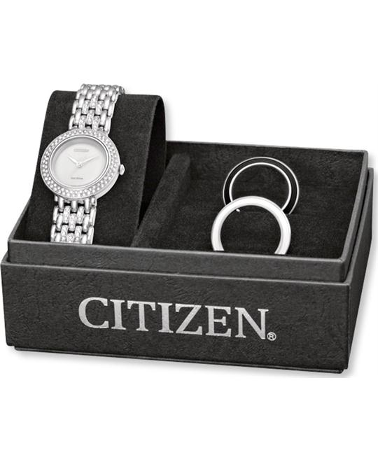 Citizen Women's Eco-Drive Interchangeable Watch Set 27mm