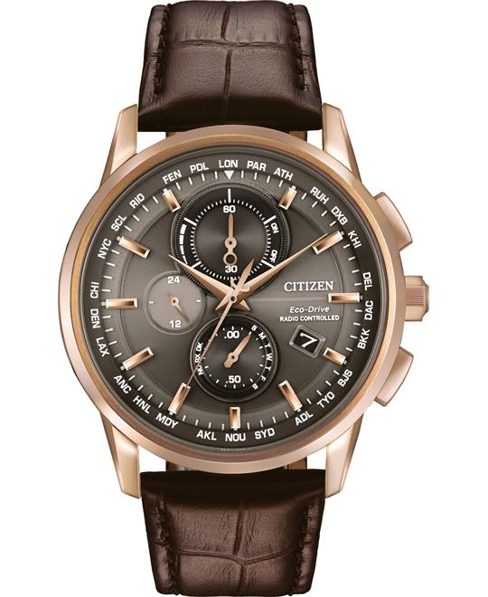 Citizen World Chronograph A-T Men's Watch 43mm