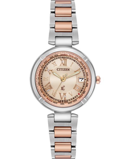 đồng hồ nữ Citizen Xc Super Titanium Watch 28mm