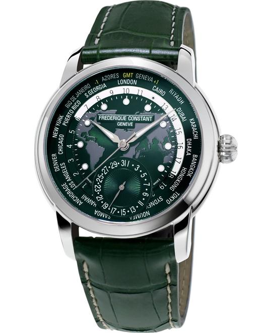 đồng hồ Frederique Constant FC-718GRWM4H6 Worldtimer Watch 42mm