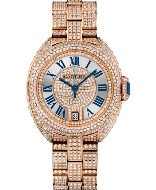 Cartier Clé De Cartier HPI01040 18K Pink Gold Diamonds 35