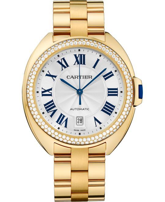 Cartier Clé De Cartier WJCL0010 Yellow Gold Diamonds 40