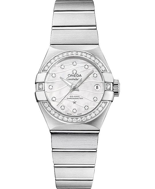 Omega Constellation 123.15.27.20.55.002 Co‑Axial 27mm