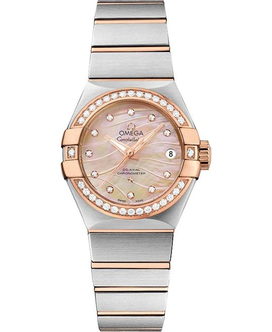 đồng hồ nữ Omega Constellation 123.25.27.20.57.003 Co‑Axial 27mm