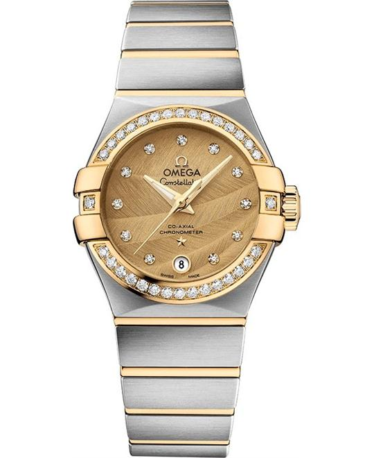 đồng hồ nữ Omega CONSTELLATION 123.25.27.20.58.002 CO‑AXIAL 27MM