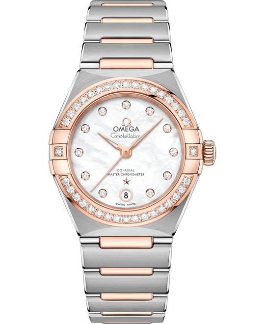đồng hồ nữ OMEGA CONSTELLATION 131.25.29.20.55.001 MANHATTAN 29