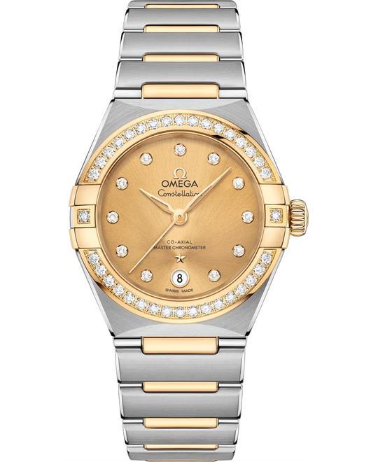 đồng hồ nữ OMEGA CONSTELLATION 131.25.29.20.58.001 MANHATTAN 29