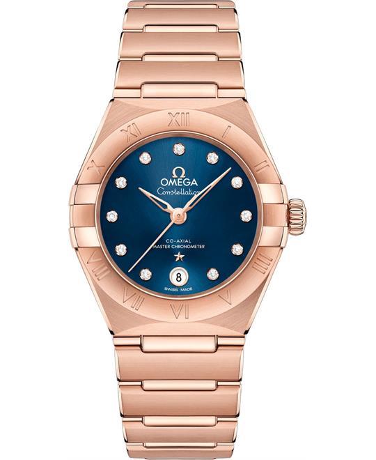 đồng hồ nữ OMEGA CONSTELLATION 131.50.29.20.53.001 MANHATTAN 29