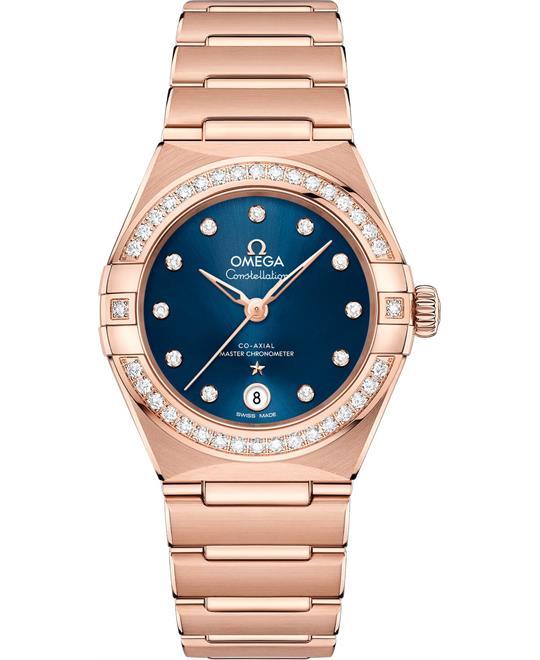 đồng hồ nữ OMEGA CONSTELLATION 131.55.29.20.53.001 MANHATTAN 29mm