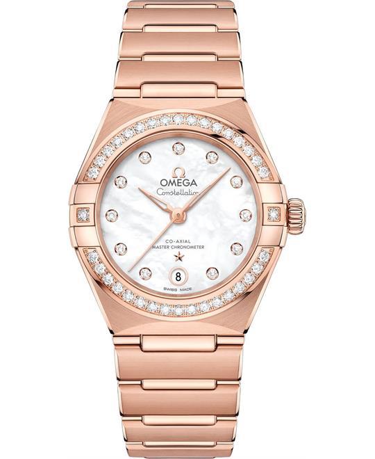đồng hồ nữ OMEGA CONSTELLATION 131.55.29.20.55.001 MANHATTAN 29