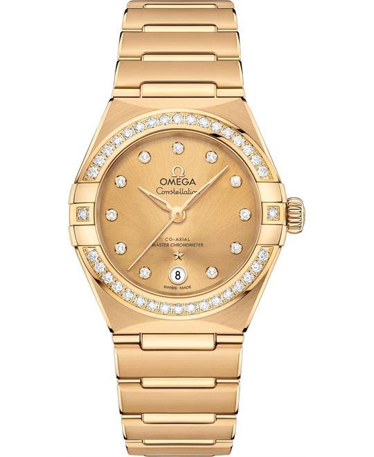 đồng hồ nữ OMEGA CONSTELLATION 131.55.29.20.58.001 MANHATTAN 29mm