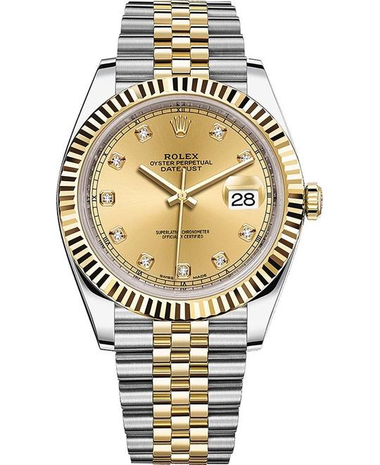ROLEX DATEJUST 126333-0012 WATCH 41
