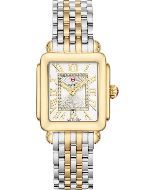 Deco Madison Mid Two-Tone Diamond 29 x 31mm